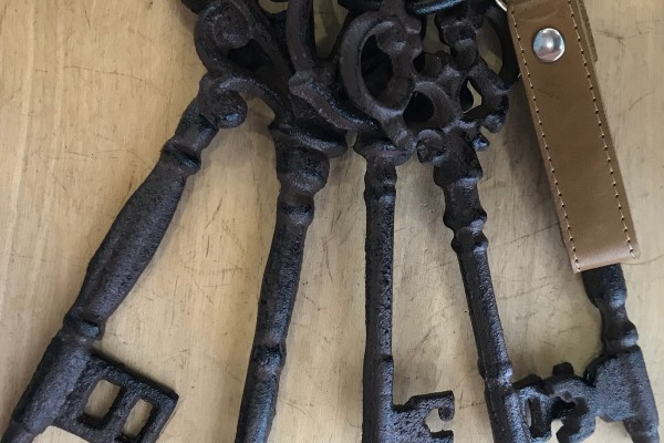 Une histoire simple : le porte-clés magique !